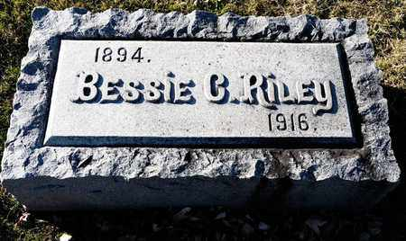 RILEY, BESSIE C - Richland County, Ohio | BESSIE C RILEY - Ohio Gravestone Photos
