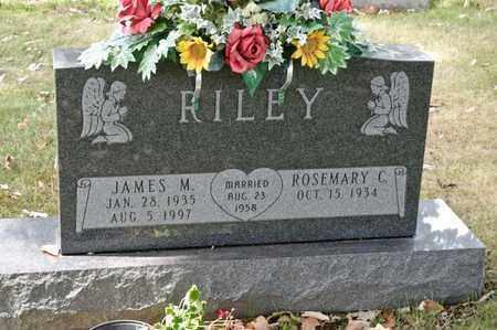 RILEY, JAMES M - Richland County, Ohio | JAMES M RILEY - Ohio Gravestone Photos