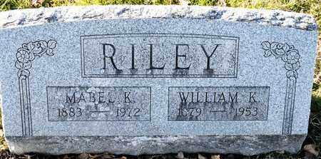 RILEY, WILLIAM K - Richland County, Ohio | WILLIAM K RILEY - Ohio Gravestone Photos