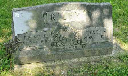 RILEY, GRACE V - Richland County, Ohio | GRACE V RILEY - Ohio Gravestone Photos