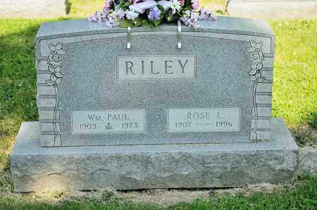 RILEY, ROSE L - Richland County, Ohio | ROSE L RILEY - Ohio Gravestone Photos