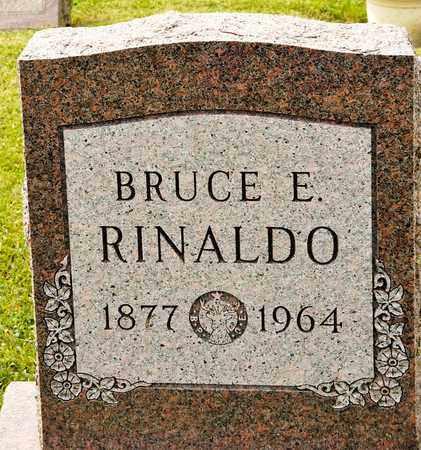 RINALDO, BRUCE E - Richland County, Ohio | BRUCE E RINALDO - Ohio Gravestone Photos