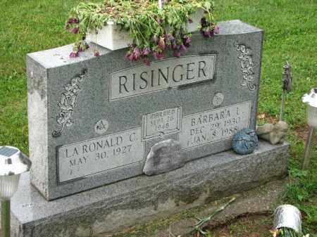 RISINGER, LARONALD C. - Richland County, Ohio | LARONALD C. RISINGER - Ohio Gravestone Photos