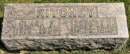 RITCHEY, ROBERT C - Richland County, Ohio | ROBERT C RITCHEY - Ohio Gravestone Photos
