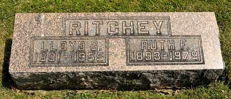 RITCHEY, RUTH F - Richland County, Ohio | RUTH F RITCHEY - Ohio Gravestone Photos