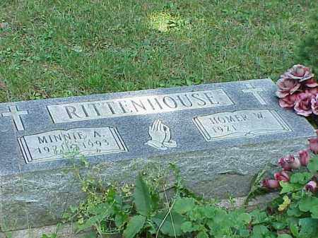 RITTENHOUSE, MINNIE A. - Richland County, Ohio | MINNIE A. RITTENHOUSE - Ohio Gravestone Photos