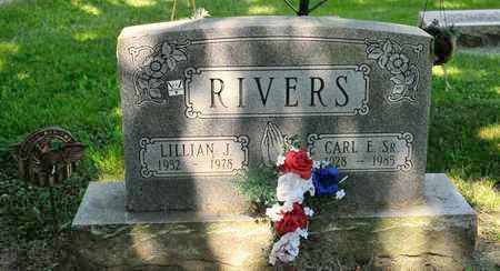 RIVERS SR, CARL E - Richland County, Ohio | CARL E RIVERS SR - Ohio Gravestone Photos