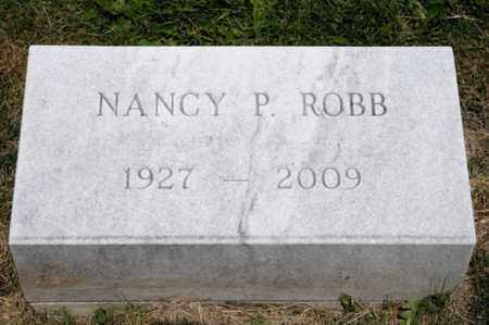 ROBB, NANCY P - Richland County, Ohio | NANCY P ROBB - Ohio Gravestone Photos