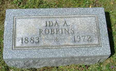 ROBBINS, IDA A. - Richland County, Ohio | IDA A. ROBBINS - Ohio Gravestone Photos