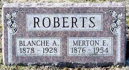 ROBERTS, BLANCHE A - Richland County, Ohio | BLANCHE A ROBERTS - Ohio Gravestone Photos