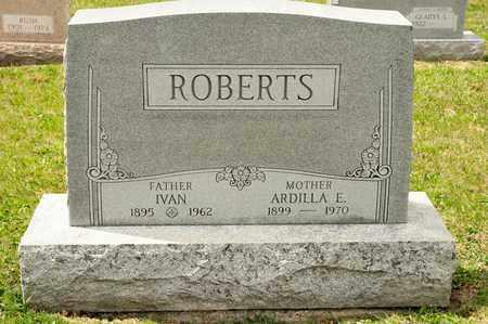 ROBERTS, IVAN - Richland County, Ohio | IVAN ROBERTS - Ohio Gravestone Photos