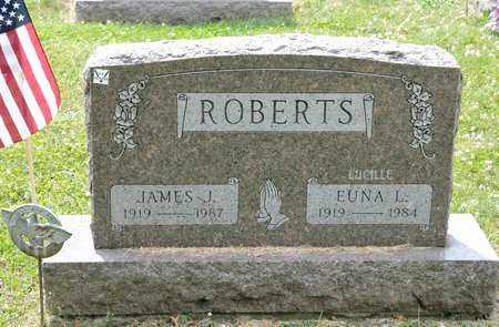 ROBERTS, JAMES J - Richland County, Ohio | JAMES J ROBERTS - Ohio Gravestone Photos