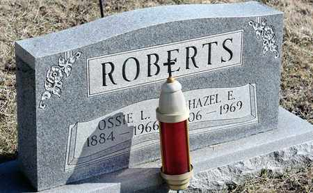 ROBERTS, HAZEL E - Richland County, Ohio | HAZEL E ROBERTS - Ohio Gravestone Photos