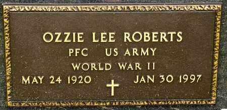 ROBERTS, OZZIE LEE - Richland County, Ohio | OZZIE LEE ROBERTS - Ohio Gravestone Photos