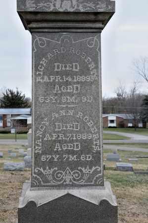 ROBERTS, NANCY ANN - Richland County, Ohio | NANCY ANN ROBERTS - Ohio Gravestone Photos