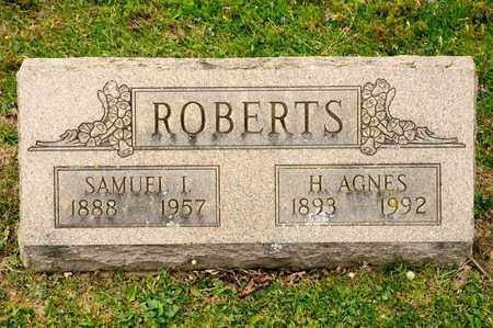 ROBERTS, H AGNES - Richland County, Ohio | H AGNES ROBERTS - Ohio Gravestone Photos