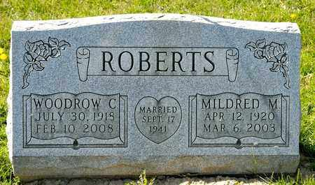 ROBERTS, WOODROW C - Richland County, Ohio | WOODROW C ROBERTS - Ohio Gravestone Photos