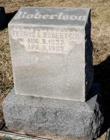 ROBERTSON, FERGUS S - Richland County, Ohio | FERGUS S ROBERTSON - Ohio Gravestone Photos