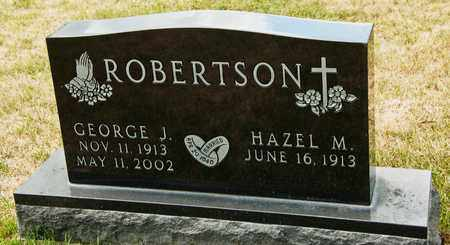 ROBERTSON, GEORGE J - Richland County, Ohio | GEORGE J ROBERTSON - Ohio Gravestone Photos