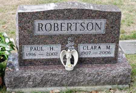 ROBERTSON, PAUL HENRY - Richland County, Ohio | PAUL HENRY ROBERTSON - Ohio Gravestone Photos