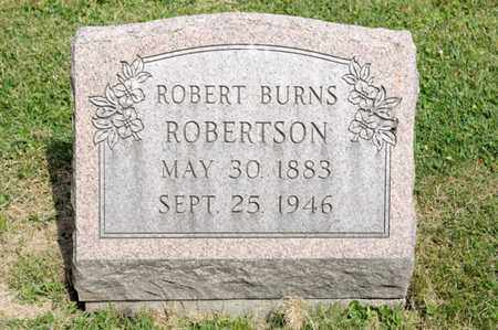 ROBERTSON, ROBERT BURNS - Richland County, Ohio | ROBERT BURNS ROBERTSON - Ohio Gravestone Photos