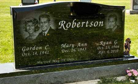 ROBERTSON, RYAN G - Richland County, Ohio | RYAN G ROBERTSON - Ohio Gravestone Photos
