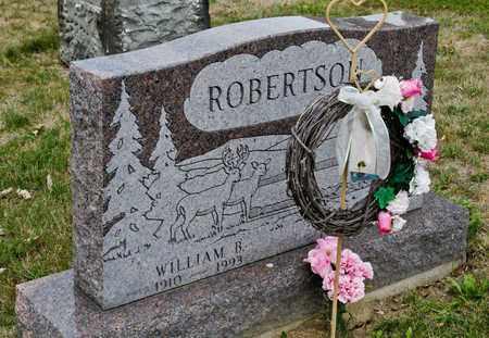 ROBERTSON, WILLIAM B - Richland County, Ohio | WILLIAM B ROBERTSON - Ohio Gravestone Photos