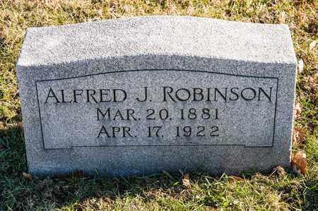 ROBINSON, ALFRED J - Richland County, Ohio | ALFRED J ROBINSON - Ohio Gravestone Photos