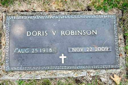 ROBINSON, DORIS V - Richland County, Ohio | DORIS V ROBINSON - Ohio Gravestone Photos
