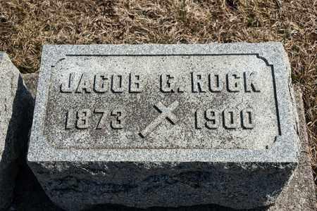 ROCK, JACOB G - Richland County, Ohio | JACOB G ROCK - Ohio Gravestone Photos