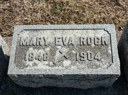 ROCK, MARY EVA - Richland County, Ohio | MARY EVA ROCK - Ohio Gravestone Photos
