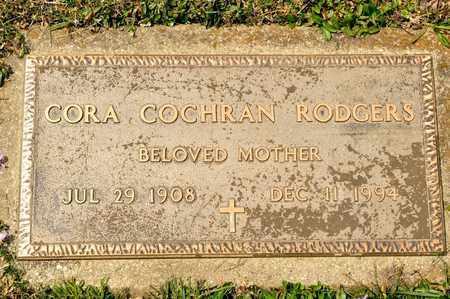 RODGERS, CORA - Richland County, Ohio | CORA RODGERS - Ohio Gravestone Photos