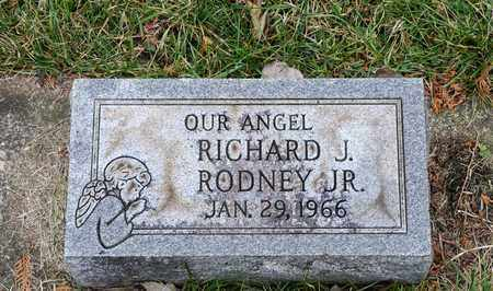RODNEY JR, RICHARD J - Richland County, Ohio | RICHARD J RODNEY JR - Ohio Gravestone Photos