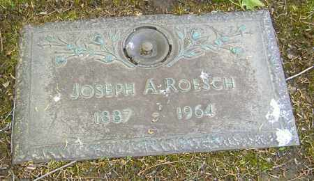 ROESCH, JOSEPH ANTHONY - Richland County, Ohio | JOSEPH ANTHONY ROESCH - Ohio Gravestone Photos