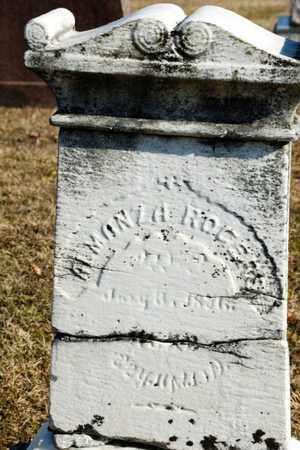 ROGERS, ALMANZA - Richland County, Ohio | ALMANZA ROGERS - Ohio Gravestone Photos