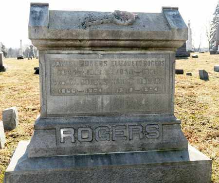 ROGERS, GEORGE W - Richland County, Ohio | GEORGE W ROGERS - Ohio Gravestone Photos