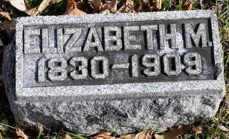 ROGERS, ELIZABETH M - Richland County, Ohio | ELIZABETH M ROGERS - Ohio Gravestone Photos