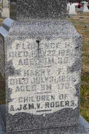 ROGERS, FLORENCE H - Richland County, Ohio | FLORENCE H ROGERS - Ohio Gravestone Photos