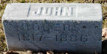 ROGERS, JOHN - Richland County, Ohio | JOHN ROGERS - Ohio Gravestone Photos