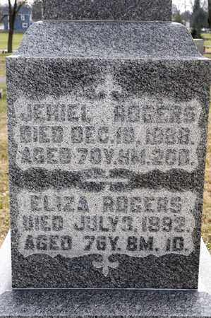ROGERS, JEHIEL - Richland County, Ohio | JEHIEL ROGERS - Ohio Gravestone Photos