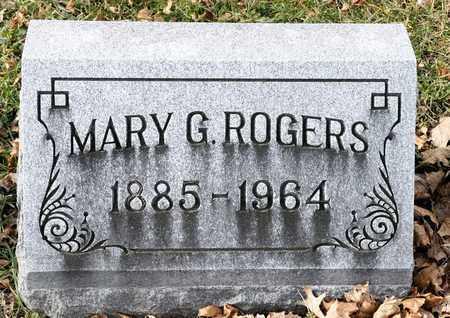 ROGERS, MARY G - Richland County, Ohio | MARY G ROGERS - Ohio Gravestone Photos