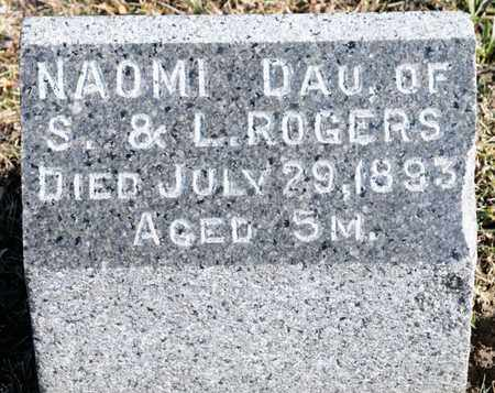 ROGERS, NAOMI - Richland County, Ohio | NAOMI ROGERS - Ohio Gravestone Photos