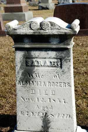 ROGERS, SARAH - Richland County, Ohio | SARAH ROGERS - Ohio Gravestone Photos