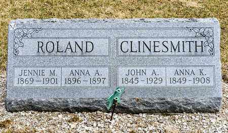 CLINESMITH, JOHN A - Richland County, Ohio | JOHN A CLINESMITH - Ohio Gravestone Photos