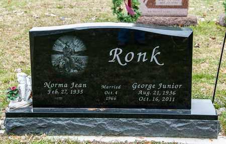 RONK, GEORGE JUNIOR - Richland County, Ohio | GEORGE JUNIOR RONK - Ohio Gravestone Photos