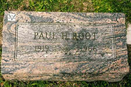 ROOT, PAUL H - Richland County, Ohio | PAUL H ROOT - Ohio Gravestone Photos