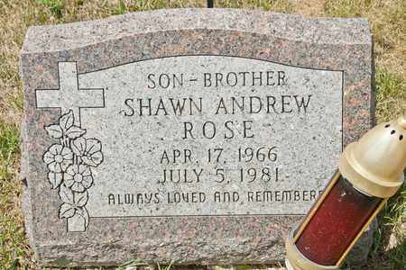ROSE, SHAWN ANDREW - Richland County, Ohio | SHAWN ANDREW ROSE - Ohio Gravestone Photos