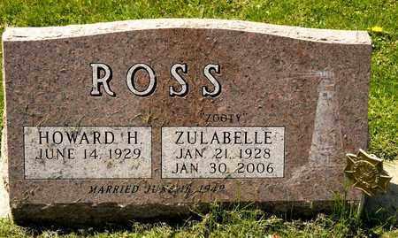 ROSS, ZULABELLE - Richland County, Ohio   ZULABELLE ROSS - Ohio Gravestone Photos