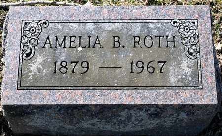 ROTH, AMELIA B - Richland County, Ohio | AMELIA B ROTH - Ohio Gravestone Photos