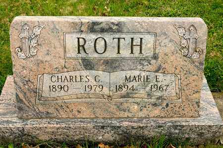 ROTH, MARIE E - Richland County, Ohio | MARIE E ROTH - Ohio Gravestone Photos